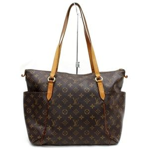 Auth Louis Vuitton Totally Mm Tote Bag #2855L43